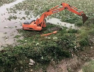 水陆挖掘机出租