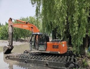 水上挖掘机出租公司