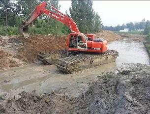 水上挖掘机出租价格