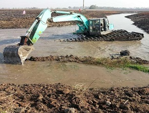 水挖机-水挖机施工
