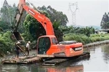水挖掘机-水挖掘机施工